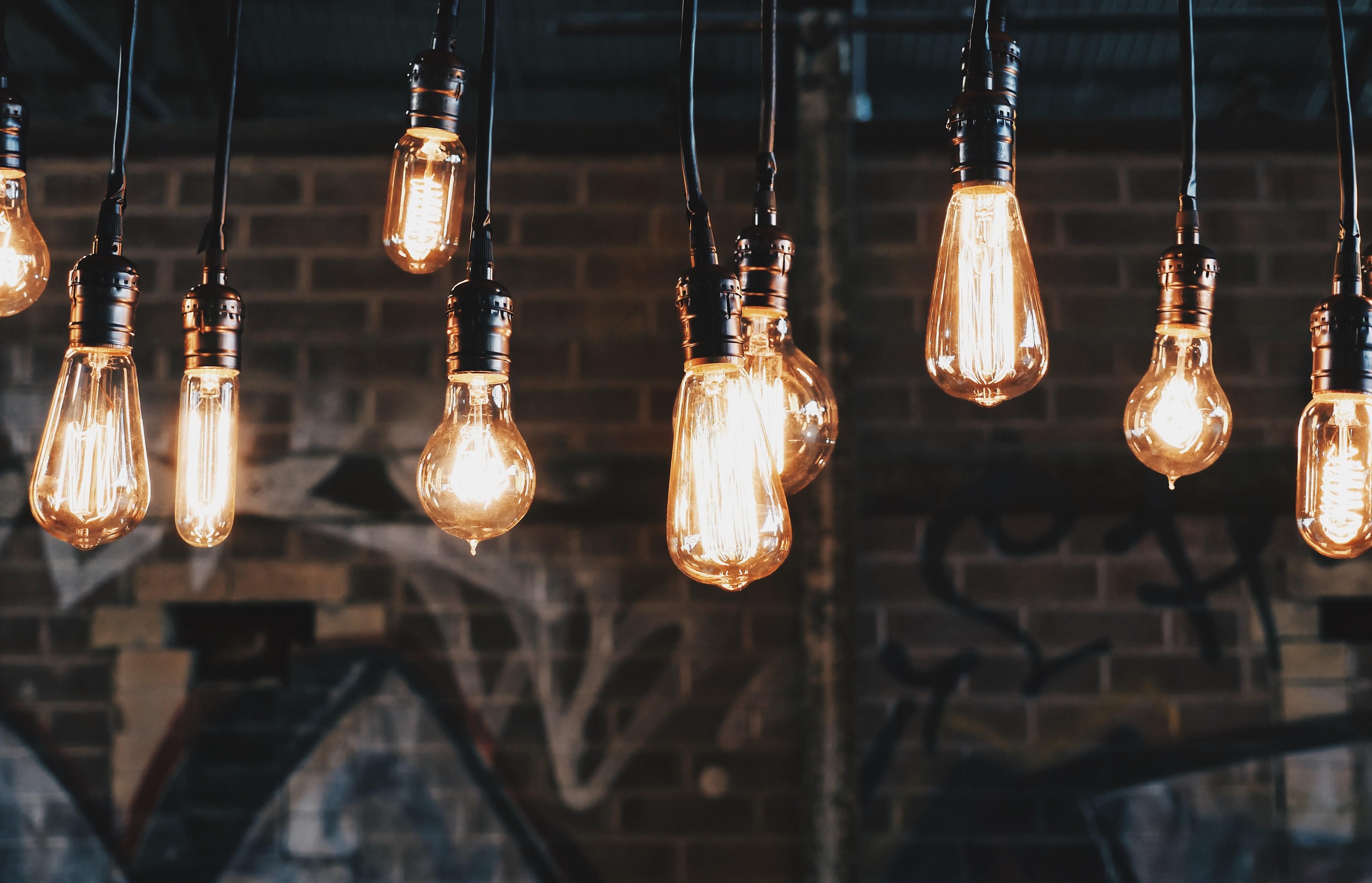 Challenge idéation - lightbulbs