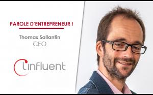 Thomas Sallantin, CEO de Linfluent