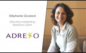 Stéphanie Grodard, Directrice Marketing Relations Clients, Adrexo
