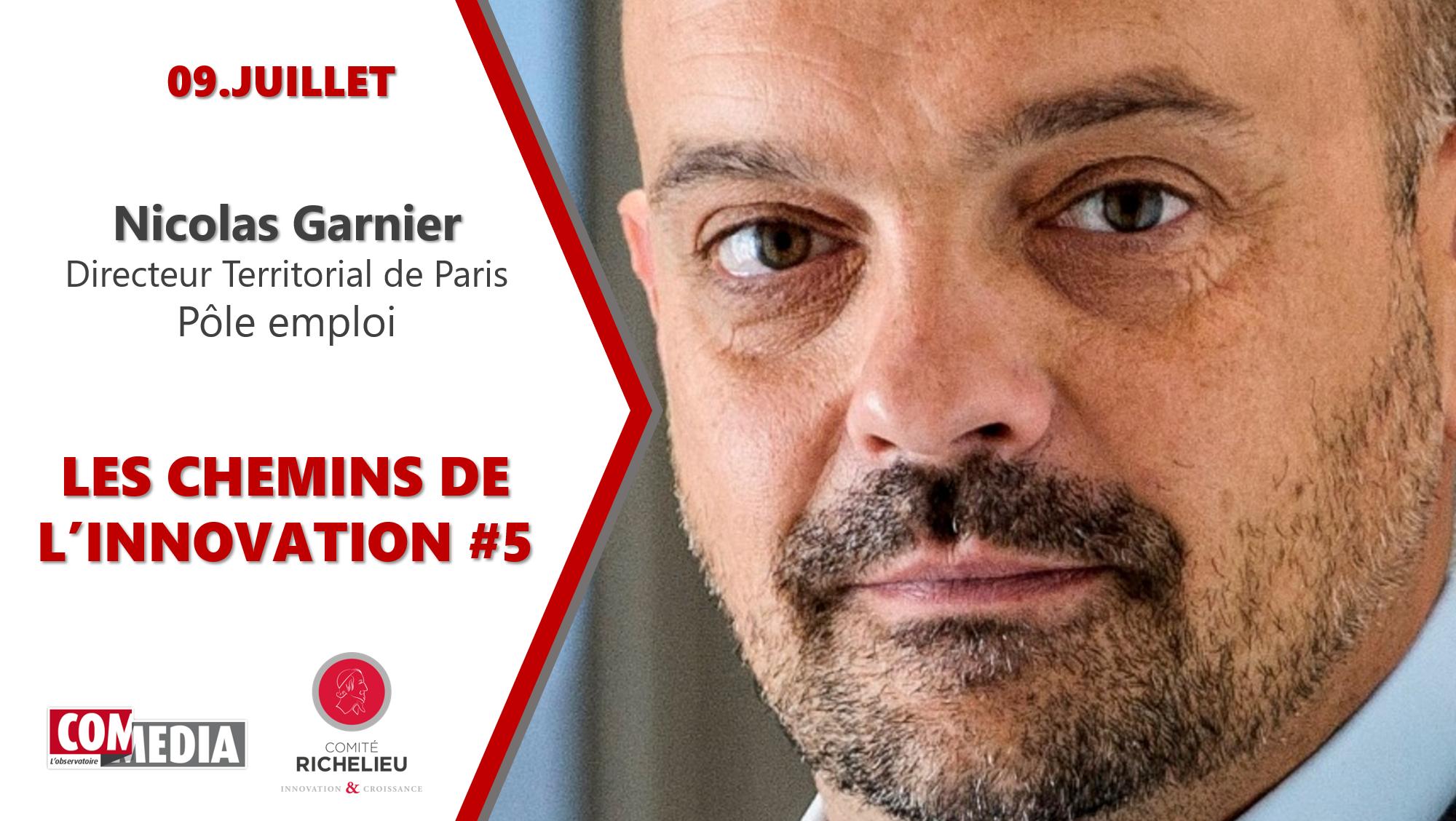 Nicolas Garnier, Pole emploi, aux Chemins de l'Innovation #5