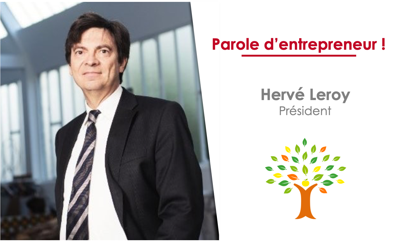 Hervé Leroy, Président de Ecdys