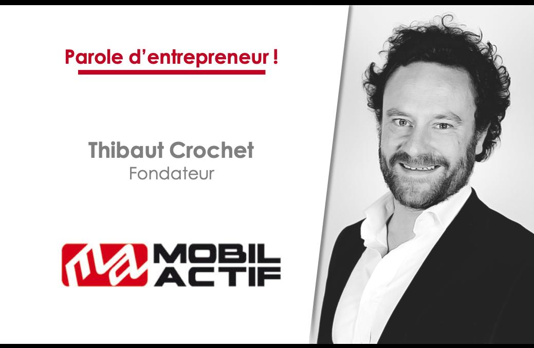 Thibaut Crochet, fondateur de MobilActif